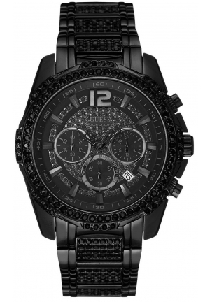GUESS Black Bold Sport Watch 47mm