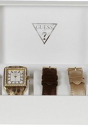 Guess Gold Classic Glamour Watch - Interchangeable Set 35mm