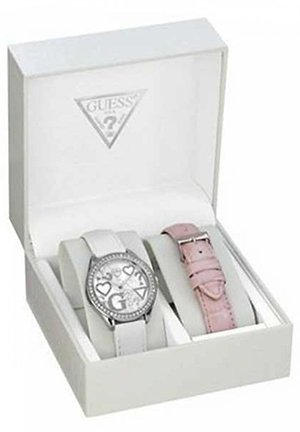 Guess Women's Leather Watch Box Set 35mm