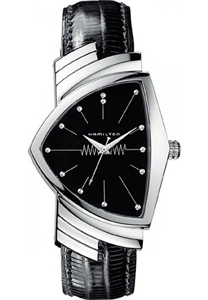 Hamilton Men's Ventura Black Dial Watch H24411732 31mm