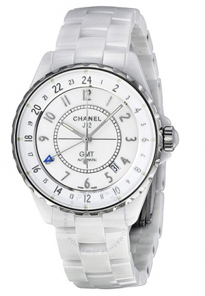 J12 GMT WHITE FUNCTION CERAMIC H3103, 38MM