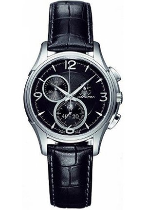 Hamilton Men's Jazzmaster Black Guilloche Dial Watch 37mm H32372735