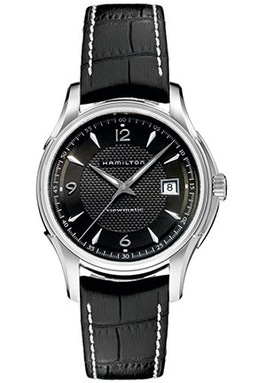 Hamilton Men's Jazzmaster Black Dial Watch 40mm H32515535