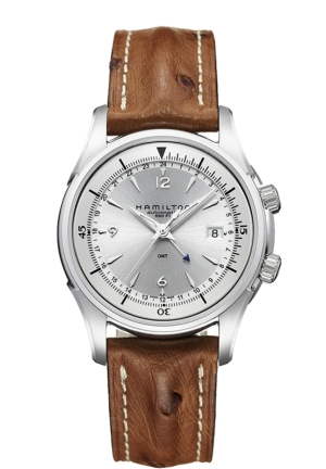JAZZMASTER TRAVELER GMT AUTOMATIC MEN'S WATCH H32625555, 42MM H32625555