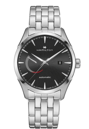 JAZZMASTER POWER RESERVE AUTOMATIC WATCH H32635131, 42MM