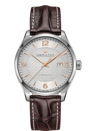 JAZZMASTER VIEWMATIC STAINLESS AUTO AUTOMATIC MEN'S WATCH H32755551, 44MM
