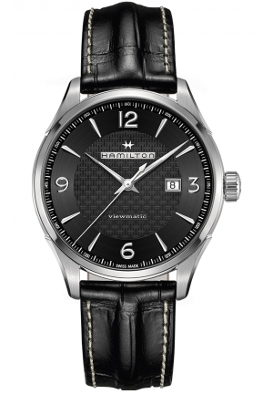 JAZZMASTER VIEWMATIC AUTO STAINLESS AUTOMATIC MEN'S WATCH H3275573, 44MM