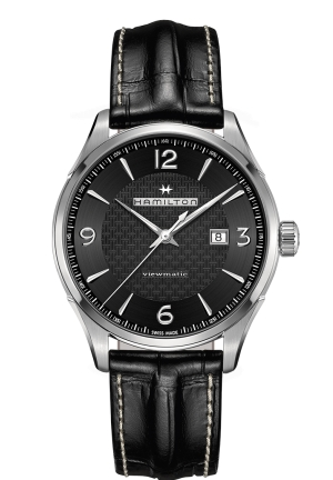 JAZZMASTER VIEWMATIC AUTO STAINLESS MEN'S WATCH H32755731, 44MM