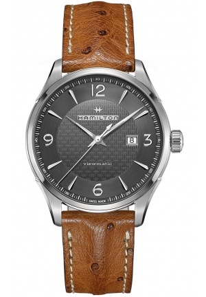 JAZZMASTER VIEWMATIC STAINLESS AUTOMATIC MEN'S WATCH H32755851, 44MM