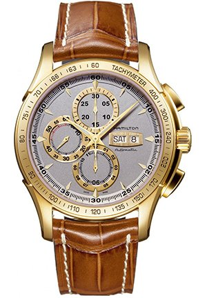 Hamilton Men's Lord Hamilton Yellow Gold Chronograph Watch 47mm H32836551