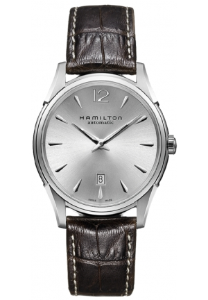 JAZZMASTER SLIM AUTO STAINLESS AUTOMATIC MEN'S WATCH H38615555, 43MM