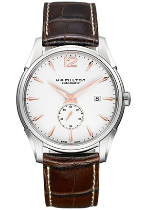 Hamilton Jazzmaster Slim Petite Seconde Automatic White Dial Men's Watch 43mm H38655515