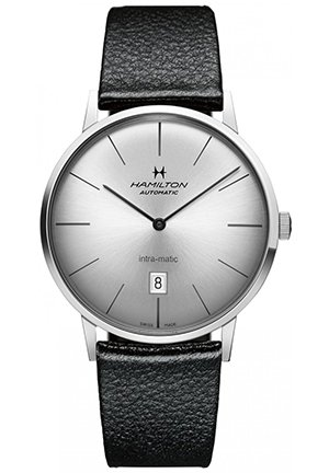 American Classic Intra-Matic Silver Dial Mens Watch 42mm H38755751