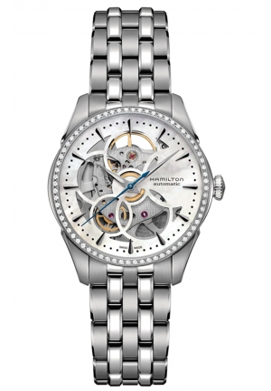 JAZZMASTER VIEWMATIC SKELETON LADIES WATCH H42405191 36MM