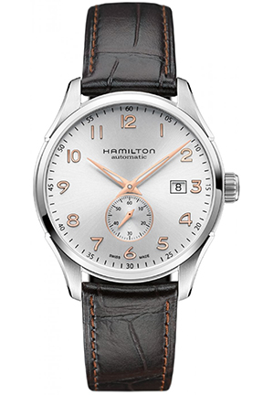 Hamilton Jazzmaster Maestro Mens - Silver Dial Steel Case Automatic Movement 40mm H42515555