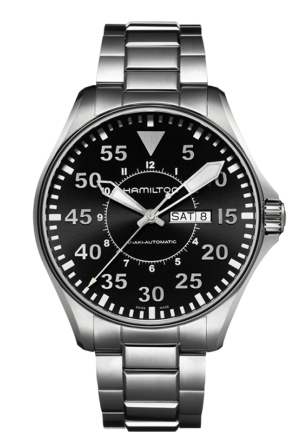 KHAKI PILOT AUTOMATIC MEN'S WATCH H64715135,46MM