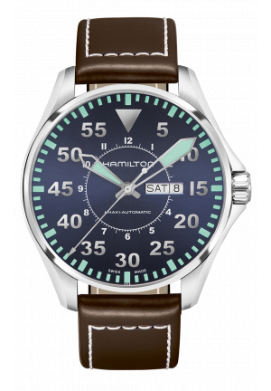 KHAKI AVIATION PILOT AUTO H64715545, 46MM