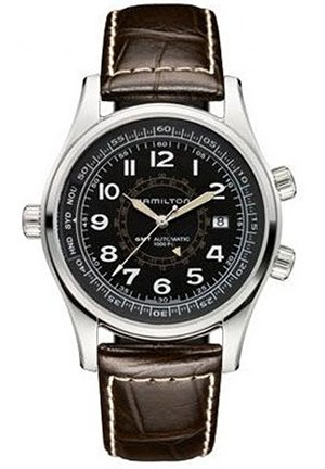Hamilton Men's Khaki Navi UTC Automatic Watch H77505535 42mm