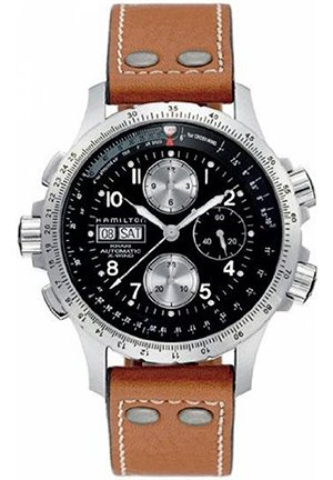 Hamilton Men's Khaki X Chronograph Watch H77616533 44mm