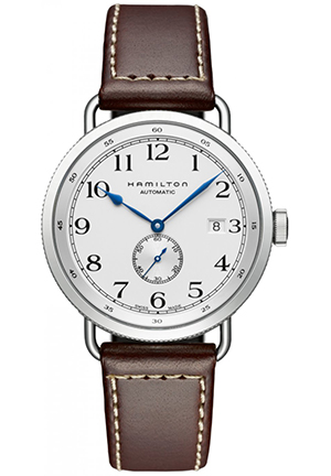 Hamilton Navy Pioneer Silver Dial Mens Watch H78465553