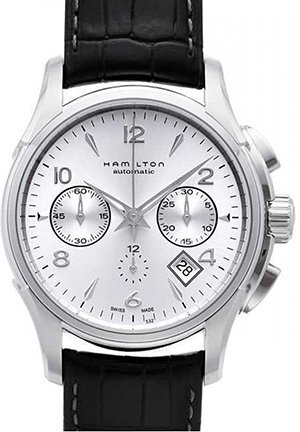 Hamilton Men's Jazzmaster Silver Dial Watch 42mm H32656853