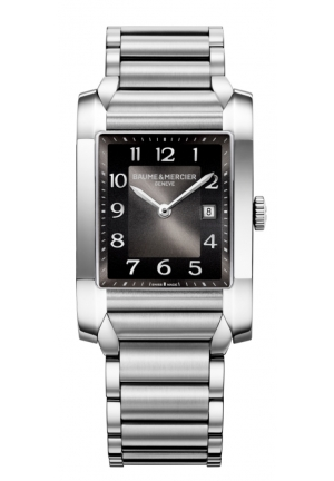BAUME & MERCIER Mercier Black Dial Stainless Steel Ladies Watch 27mm