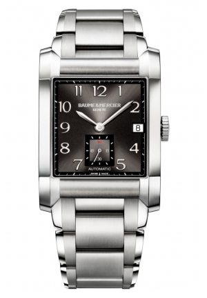 BAUME & MERCIER Analog Display Swiss Automatic Silver Watch 32mm