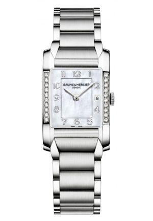 BAUME & MERCIER Mother of Pearl Diamond Ladies Watch 34.5 mm x 22.0 mm