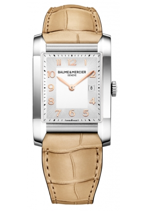 BAUME & MERCIER Stainless Steel watch 27mm x 40mm
