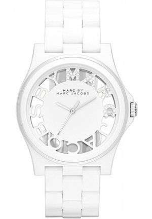 Henry Skeleton White Link Watch 40mm MBM4571