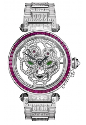 PASHA DE CARTIER SQUELETTE WATCH HPI00968, 42MM