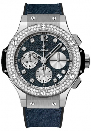 HUBLOT Big Bang Glossy Jeans Diamonds 41mm 341.SX.2710.NR.1104.JEANS14
