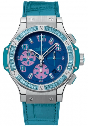 HUBLOT Big Bang Pop Art Steel Blue 41mm 341.sl.5199.lr.1907.pop14