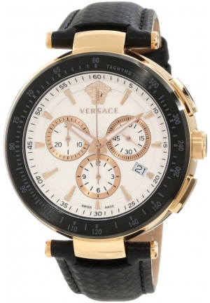 "VERSACE ""Mystique"" Rose Gold Ion-Plated Watch 41mm"