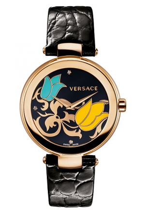 VERSACE Mystique Rose Gold Ion-Plated Chronograph 38mm