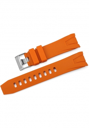 iStrap 22mm Rubber Curved end Watch Band