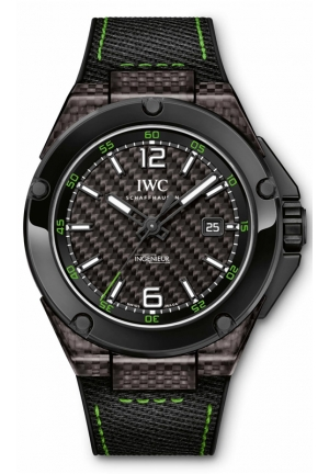 IWC Ingenieur Carbon Dial Automatic Mens Watch IW322404 46mm