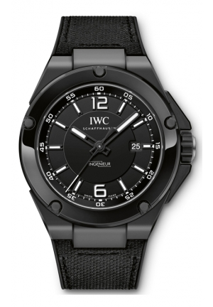IWC Ingenieur Automatic AMG Black Ceramic Mens Watch IW322503 46mm