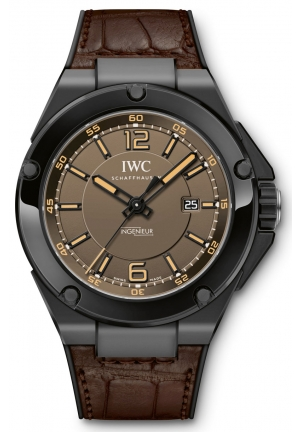IWC Ingenieur Automatic AMG Black Ceramic Men's Watch IW322504 46mm