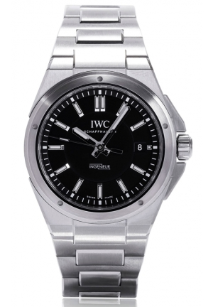 IWC Ingenieur Black Dial Stainless Steel Automatic Mens IW323902 40mm