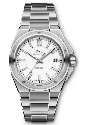 IWC Ingenieur Silver Stainless Steel Automatic Men's IW323904 40mm