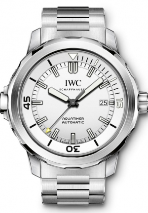 IWC Aquatimer Automatic Silver Dial Stainless Steel Men's Watch IW329004 42mm