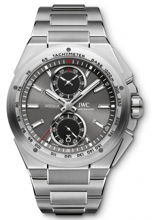 IWC Ingenieur Chronograph Racer Automatic Stainless Steel Men's Watch IW378508 45mm