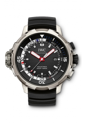 IWC Aquatimer Perpetual Calendar Black Dial Mens Watch IW379401 49mm