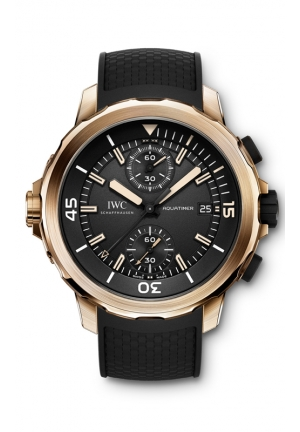 IWC Aquatimer Chronograph Expedition Charles Darwin Mens Watch IW379503 44mm