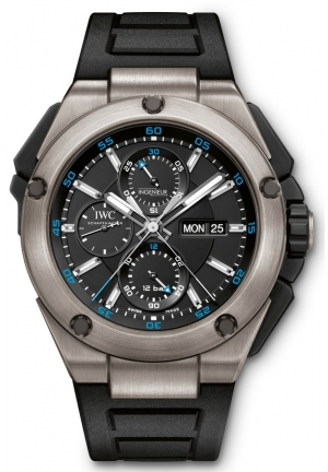 IWC Ingenieur Double Chronograph Automatic Titanium Men's Watch IW386503 45mm