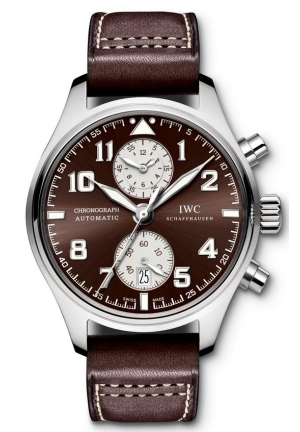 IWC Pilots Antoine De Saint Exupery Chronograph Automatic Men's Watch IW387806 43mm