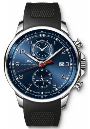 IWC Portuguese Yacht Club Chronograph Automatic Stainless Steel Mens Watch IW390213 45mm