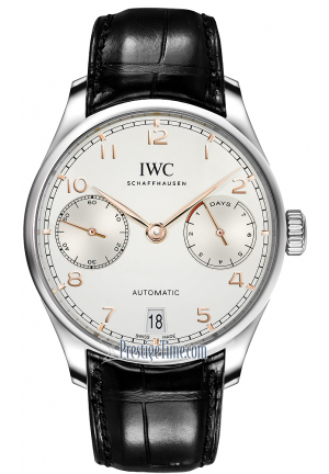 IWC Portugieser 7 Day Power reserve IW500704