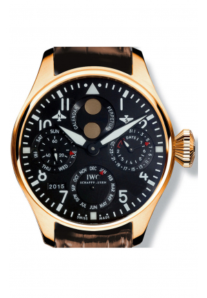 IWC Boutique Big Pilot Perpetual Calendar in 18k Rose Gold